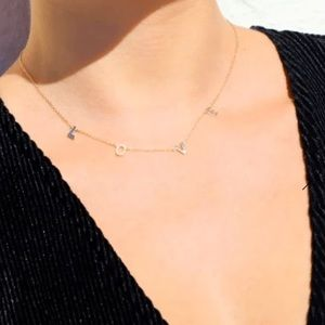LOVE Letters Delicate Necklace